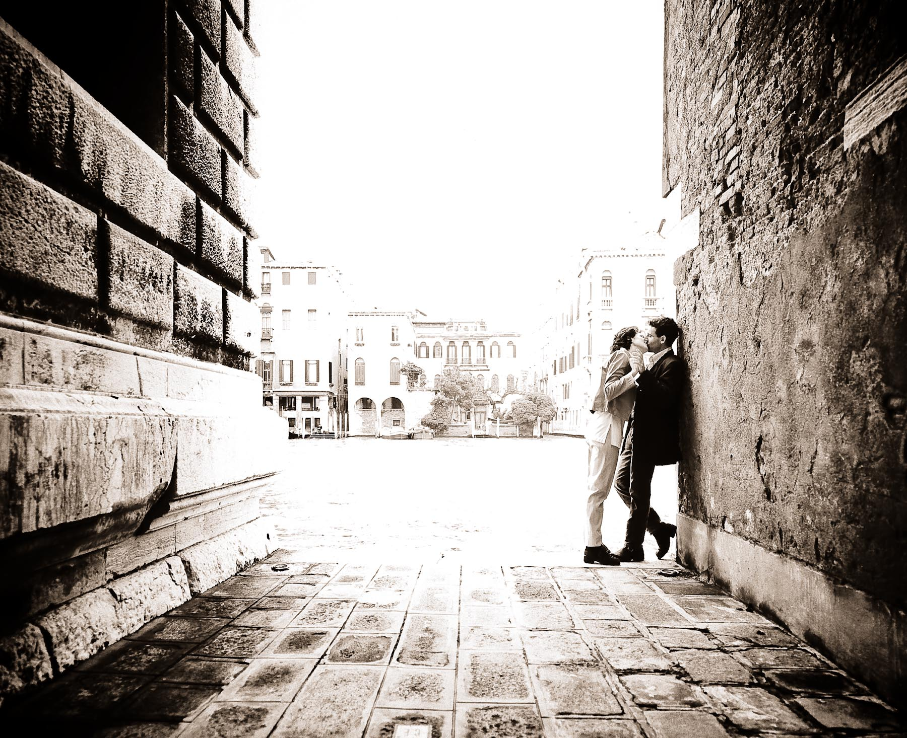Loving Couple, Venice Italy