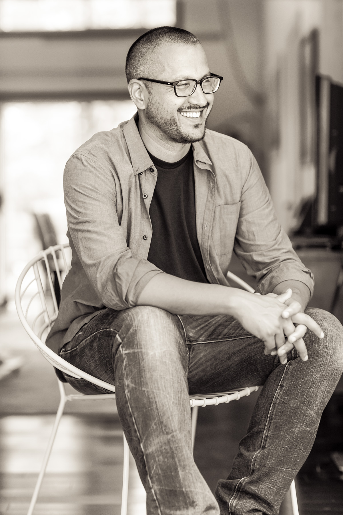 Author Sunil Yapa