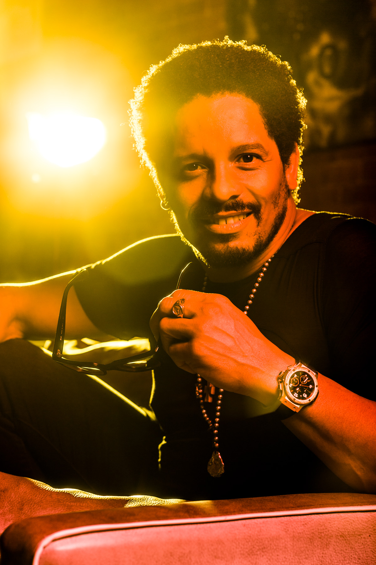Rohan Marley photographed for Forbes Magazine