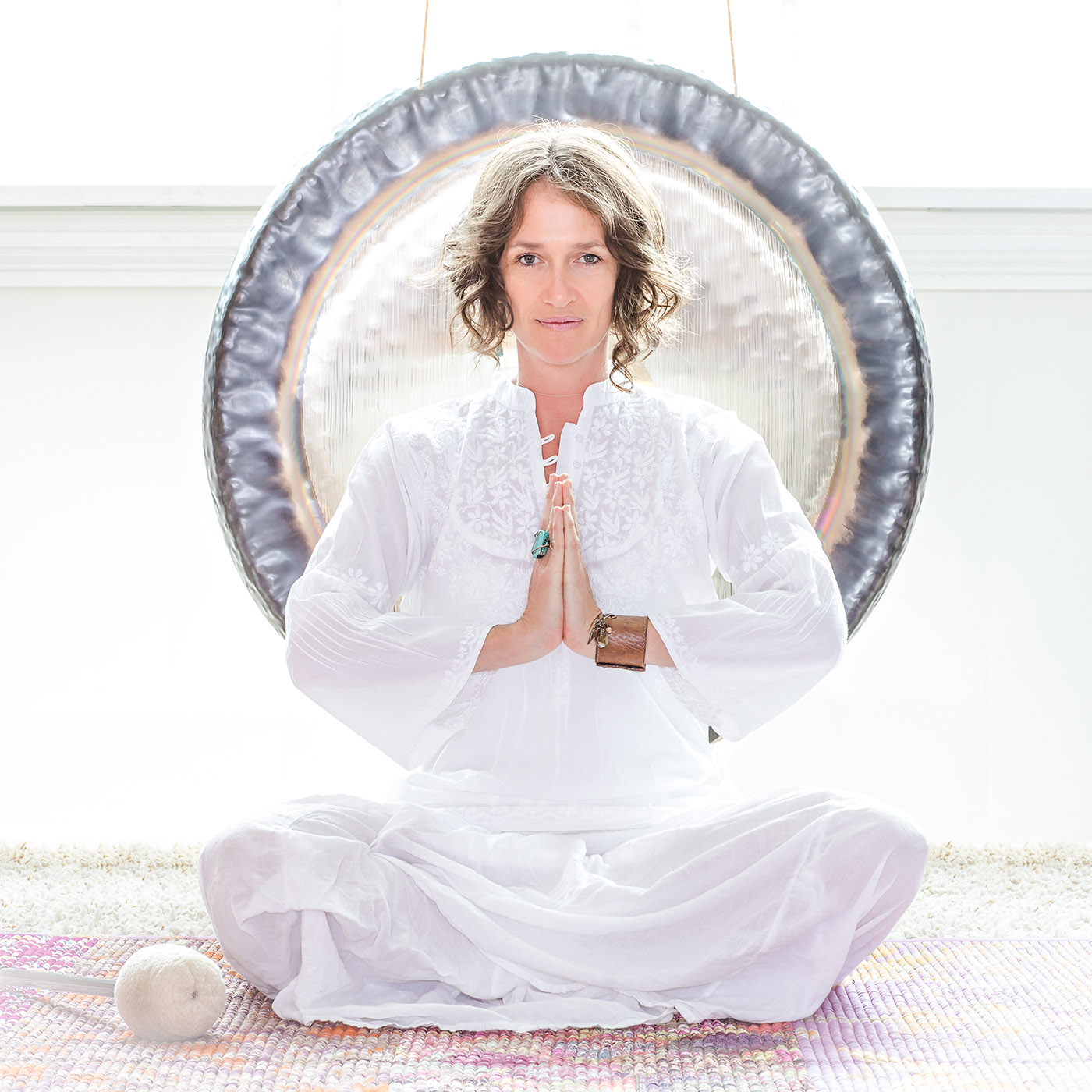 Yoga instructor Theresa Lyn Widmann