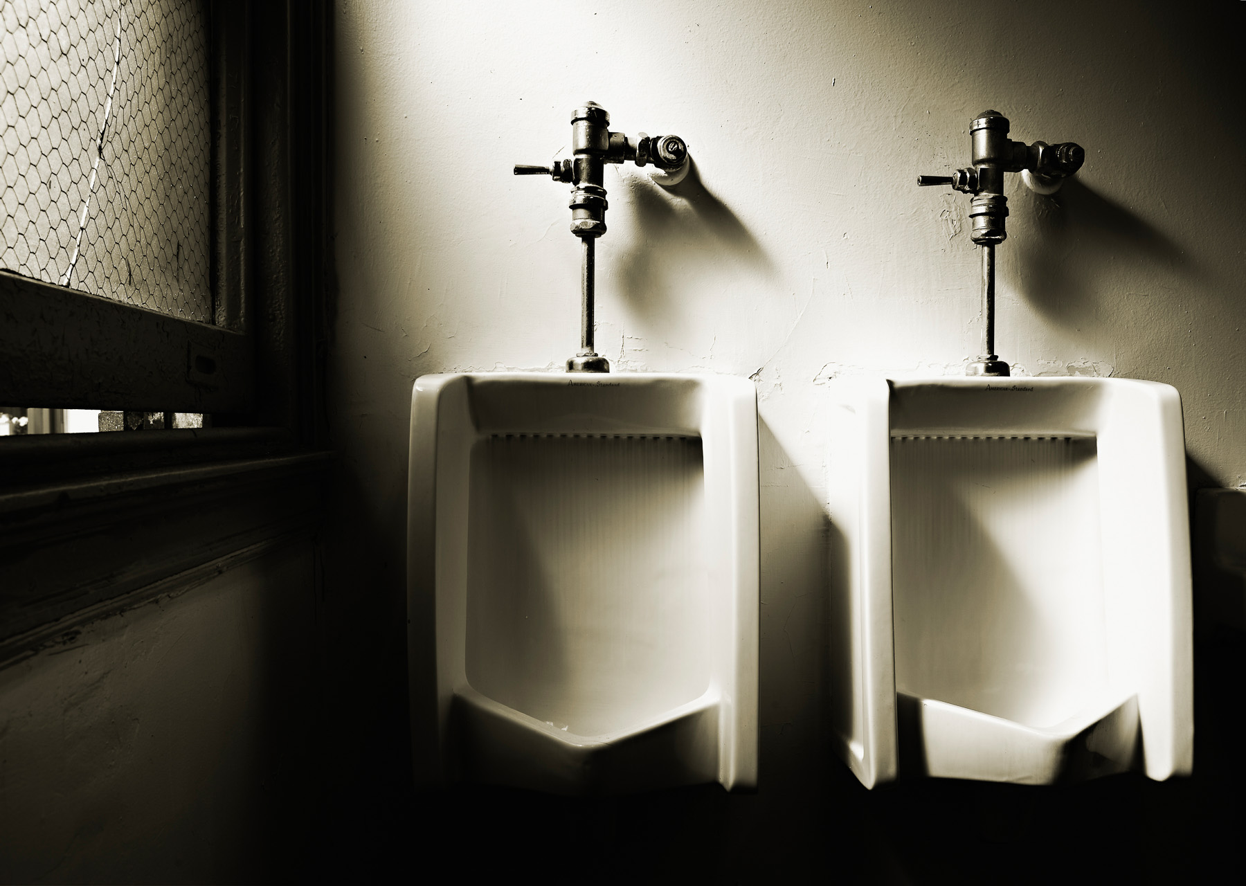 Urinals, NYC