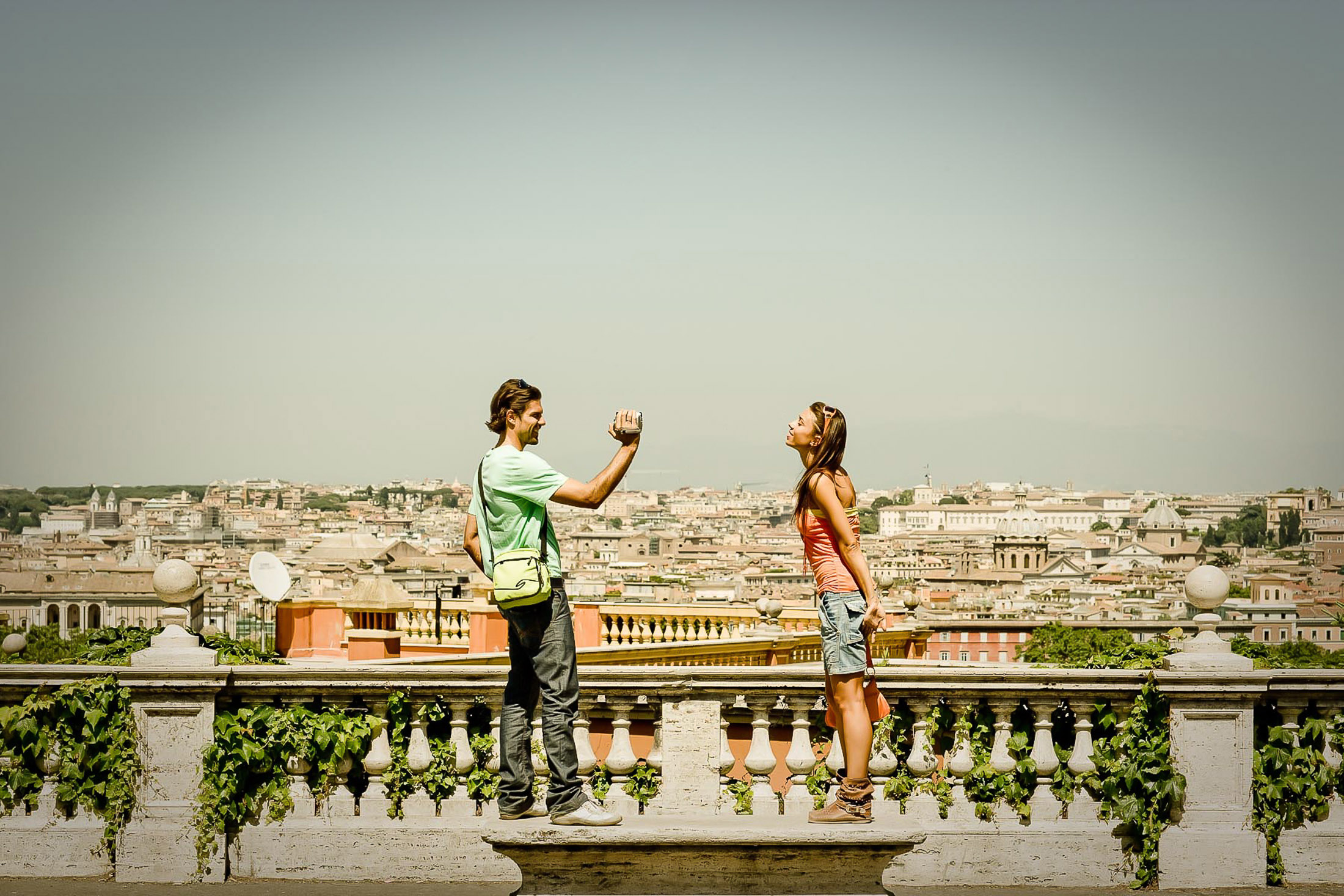 Couple in Rome, Rome Italy
