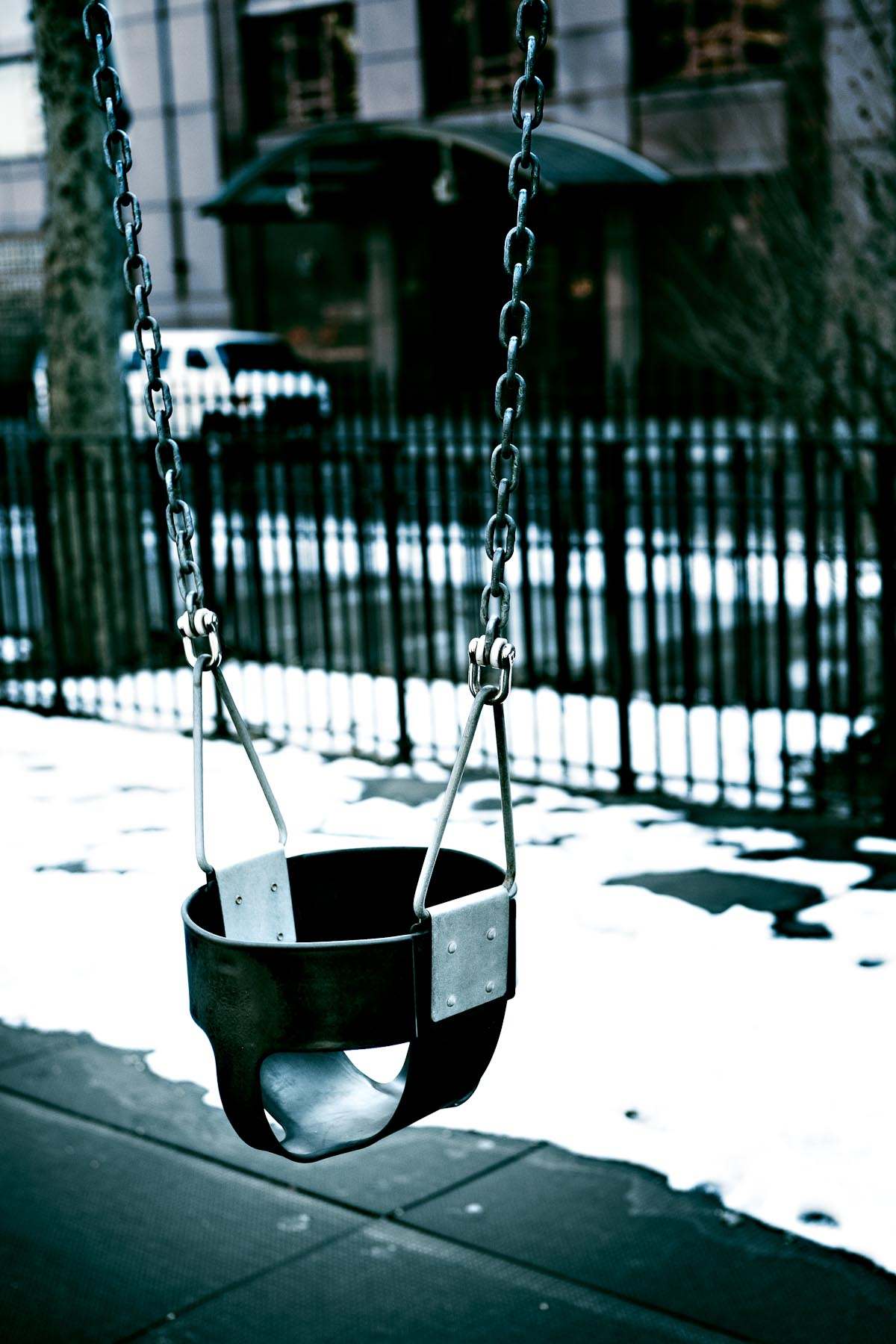 Empty Swing, NYC